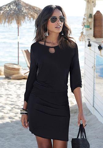 Платье пляжное с шнурки zum узел