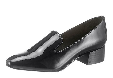 Туфли-слиперы в классический имитация