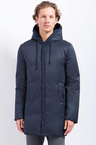 Пальто с variabler капюшон