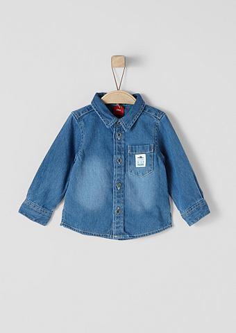 Рубашка джинсовая с Twill-Struktur для...