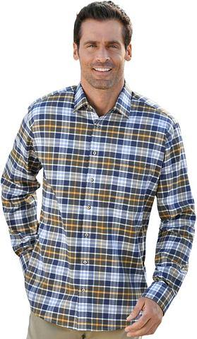 Рубашка с длинными рукавами с закругле...