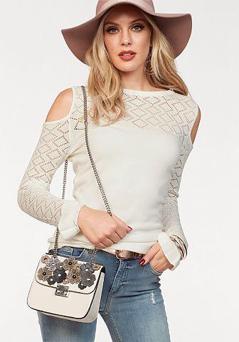 MELROSE Ажурный пуловер