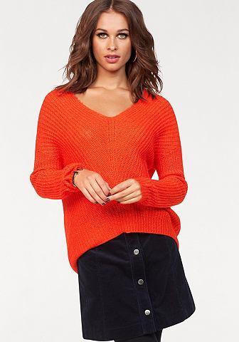 JACQUELINE DE YONG Пуловер с V-образным вырезом »ME...