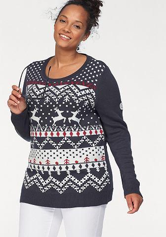 Kanga ROOS пуловер жаккардовый