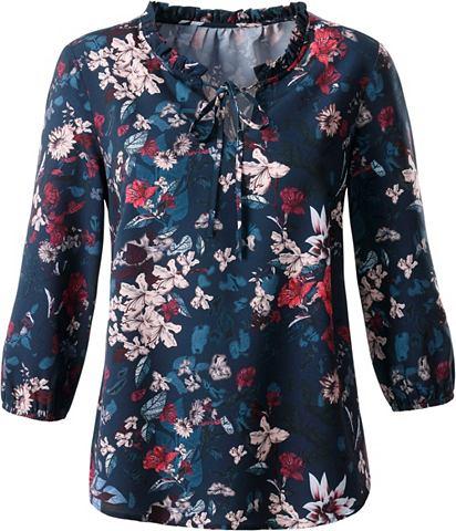 CRÉATION L Création L блуза в floral с узо...