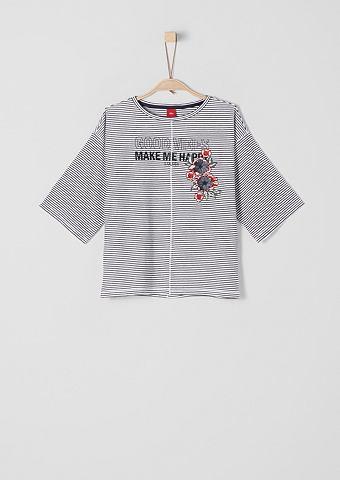 Блуза с аппликация для Mädchen