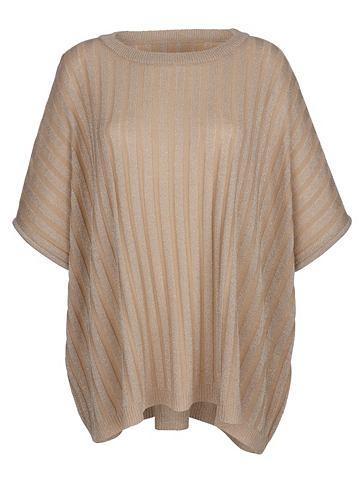 DRESS IN Платье в пончо с ажурный узор