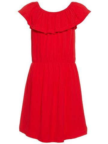 NAME IT Одноцветный с открытыми плечами платье...