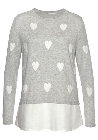 ONLY Трикотажный пуловер »AVILDE&laqu...