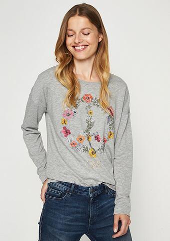 Langarmsweater с Statement-Print