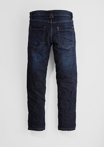 Seattle Big: джинсы с Used-Waschung дл...