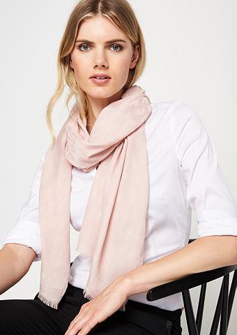 Нежный шарф с Ton-in-Ton узор