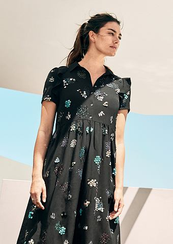 Платье с bunten с пайетками