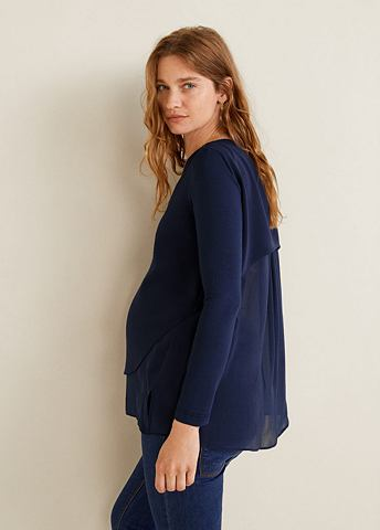 Doppellagige блуза