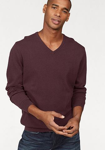 S.OLIVER RED LABEL Пуловер с V-образным вырезом