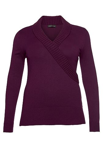 MELROSE Трикотажный пуловер