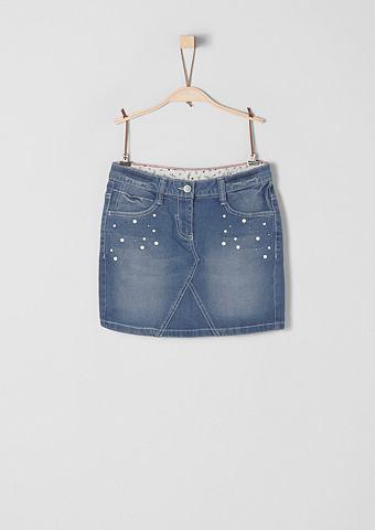 Юбка джинсовая с укороченные для M&aum...