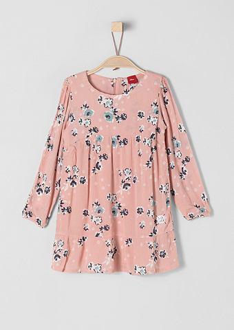 Crinkle-Kleid с c цветочным узором для...