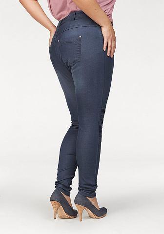 Узкие джинсы »im Bikerstyle« High талия