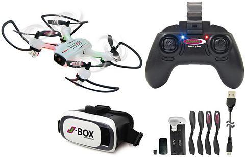 Quadrocopter с Очки виртуальной реальн...