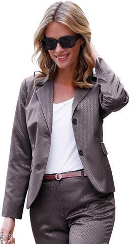 Пиджак в качествeнный Jacquard-Qualit&...