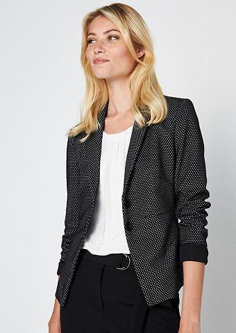 Пиджак с очень предназначенным мелкий ...
