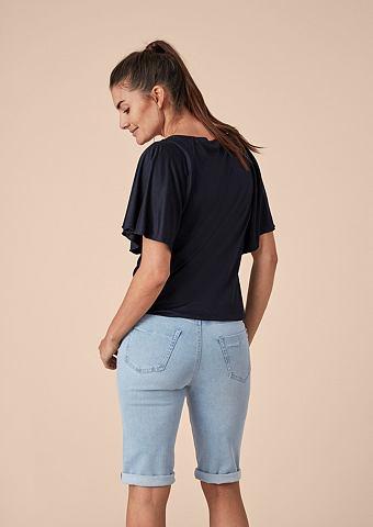 Curvy Straight: джинсовые бермуды