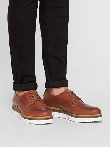 Inn. Schnür Derby-Schuhe
