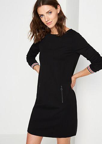 Платье с длинa рукавами в 60's стиль