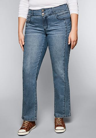 Sheego джинсы узкие джинсы