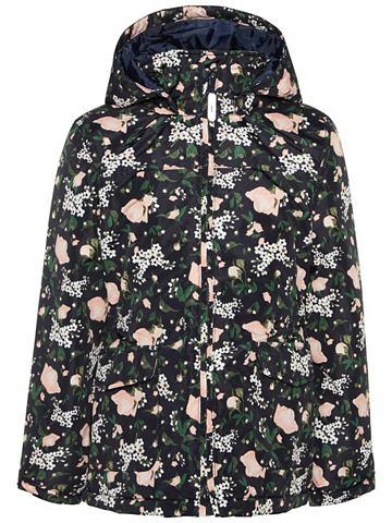 Mello цветочным узором куртка зимняя