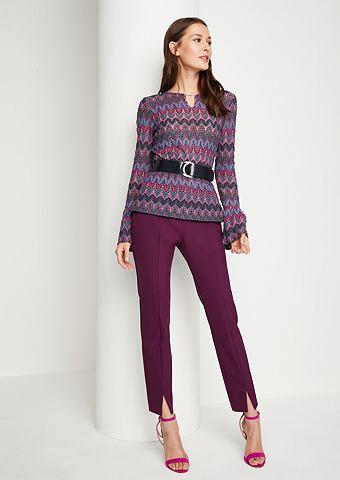 Трикотажный пуловер с abstrakt gehalte...