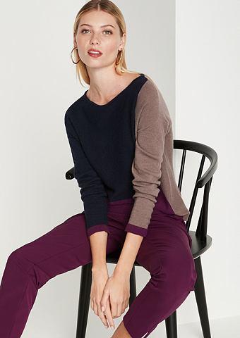 Трикотажный пуловер с Colourblock-Must...