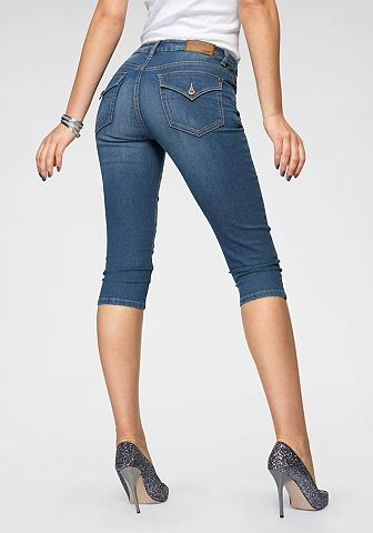 Капри джинсы »mit Pattentaschen&...