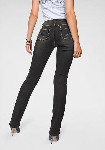 ARIZONA Gerade джинсы »Kontrastnäht...