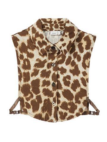 NAME IT Leopardenprint воротник
