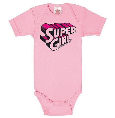 LOGOSHIRT Боди для младенцев с модный Super-Girl...