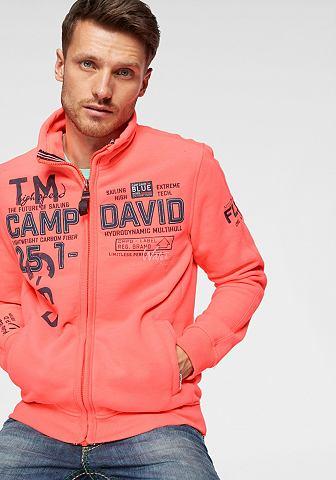 CAMP DAVID Спортивный свитер