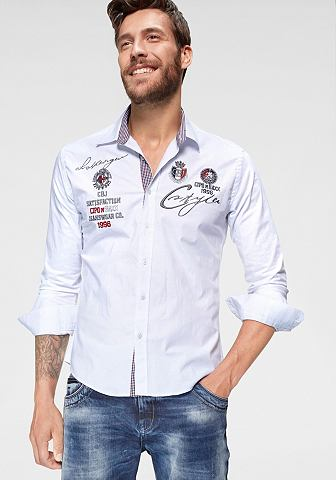Cipo & Baxx рубашка с длинными рук...