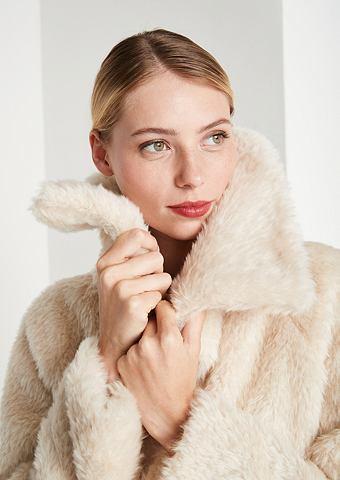Kuscheliger пальто из Fake-Fur