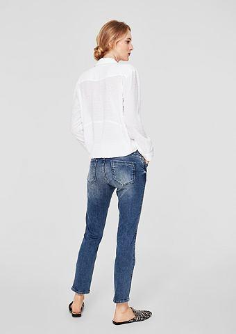 Shape Укороченные джинсы с Nieten