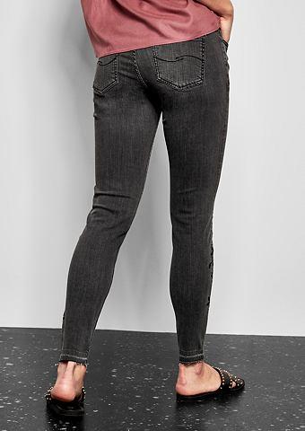 Sadie облегающие: укороченный джинсы