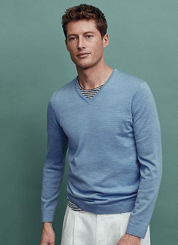Пуловер с V-образным вырезом летнее Me...