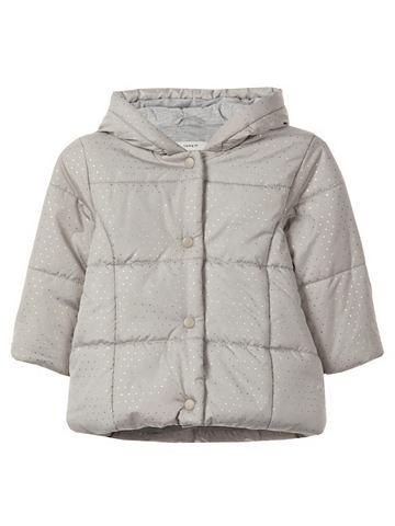 NAME IT Golden gepunktete wattierte куртка зим...