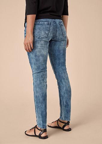 Curvy Extra Зауженные Artwork джинсы
