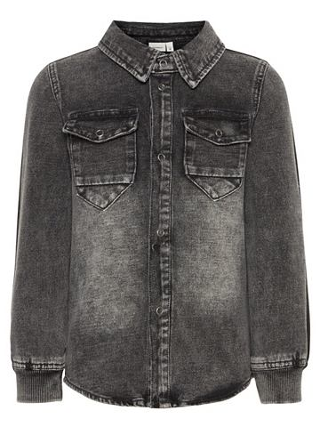 Кофта рубашка джинсовая