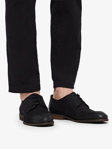 BIANCO Herren кожаная Derby-Schuhe