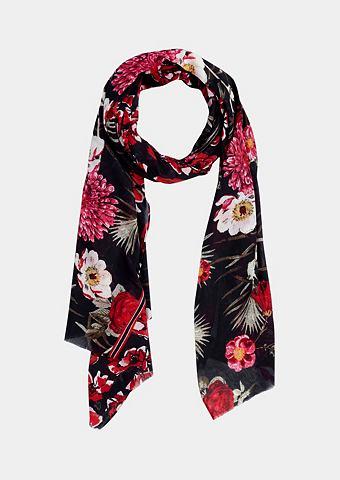 Нежный платок с декоративный повторяющ...
