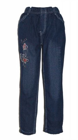 FAMILY TRENDS Термо-джинсы с niedlicher окантовка