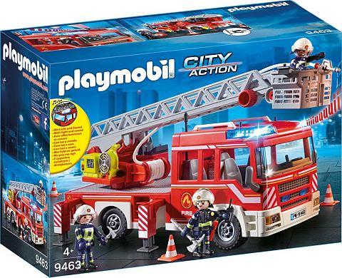 PLAYMOBIL ® Feuerwehr-Leiterfahrzeug (9463) ...